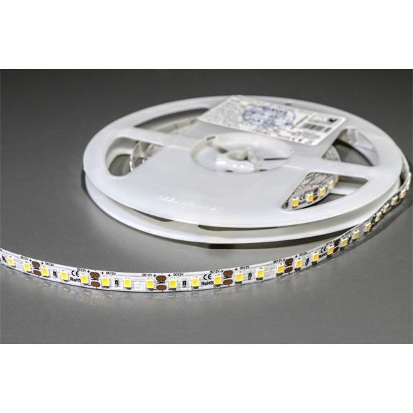 MW LC-2835 5M 120LED/m 1100 lm/m 9,6W 12V meleg fehér LED szalag - 1