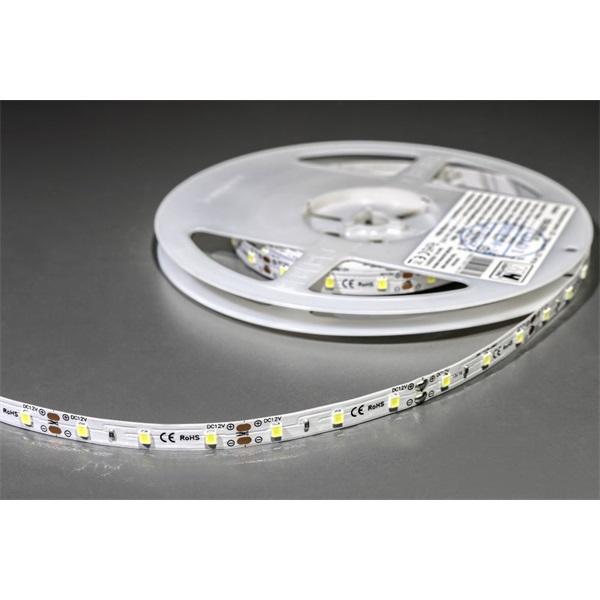 MW LC-2835 5M 60LED/m 210 lm/m 6W 12V hideg fehér LED szalag - 1