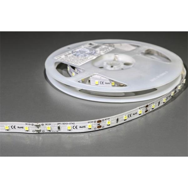 MW LC-2835 5M 60LED/m 560 lm/m 12W 12V hideg fehér LED szalag - 1