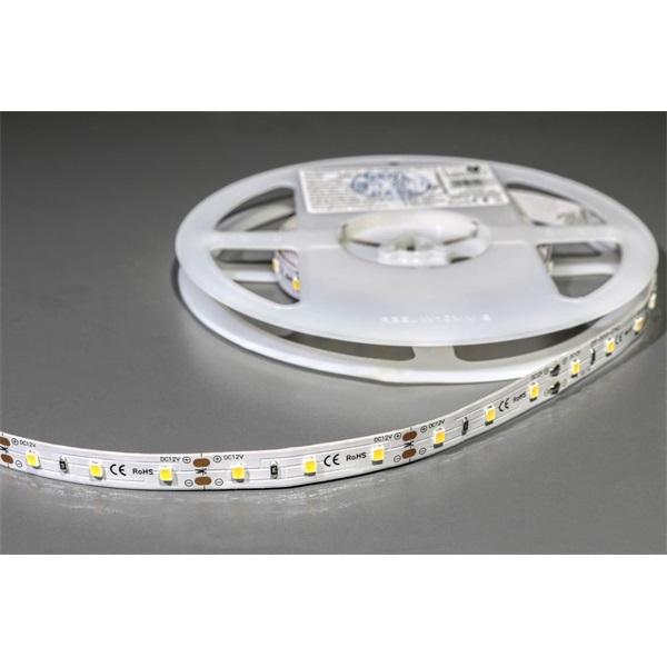 MW LC-2835 5M 60LED/m 640 lm/m 12W 12V meleg fehér LED szalag - 1