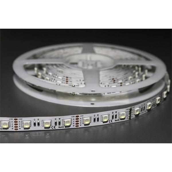 MW LC-5050 5M 60LED/m 600 lm/m 14,4W 12V RGB+W LED szalag - 1