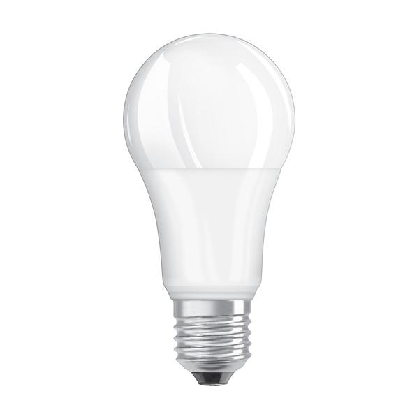 Osram Base matt műanyag búra/14W/1521lm/4000K/E27 LED körte izzó 3 db - 1