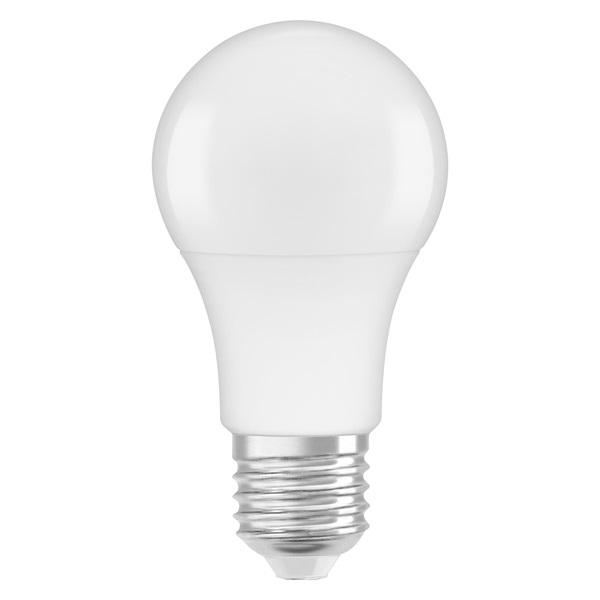 Osram Base matt műanyag búra/8,5W/806lm/2700K/E27/dobozos LED körte izzó 3 db - 1