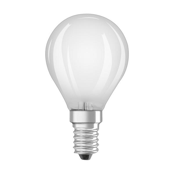 Osram Base matt üveg búra/4W/470lm/2700K/E14 LED kisgömb izzó 3 db - 1