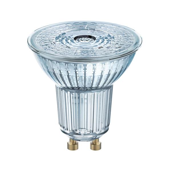 Osram Base PAR16 műanyag ház/4,3W/350lm/2700K/GU10/dobozos LED spot izzó 3 db - 1