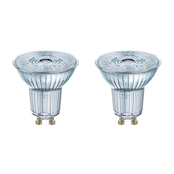 Osram Base PAR16 műanyag ház/4,3W/350lm/2700K/GU10 LED spot izzó 2 db - 1