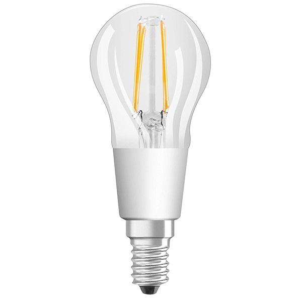 Osram Star+ GLOWdim átlátszó üveg búra/4,5W/470lm/2700K/E14 LED kisgömb izzó - 1