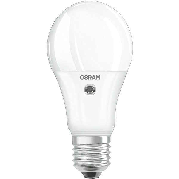 Osram Star+ matt műanyag búra/10W/1055lm/2700K/E27/fényérzékelős LED körte izzó - 1