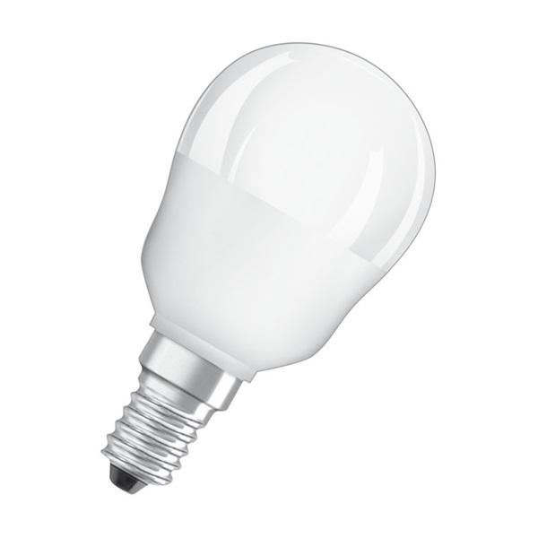 Osram Star+ RGBW/matt búra/4,5W/250lm/2700K/E14 távirányítható LED kisgömb fényforrás - 1