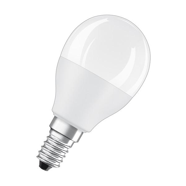 Osram Star+ RGBW/matt búra/5,5W/470lm/2700K/E14 távirányítható LED kisgömb izzó - 1