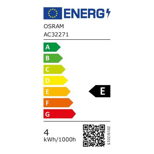 Osram Star+ üveg búra/4W/470lm/2700K/E14 3 fokozatban  szabályozható LED kisgömb izzó - 1