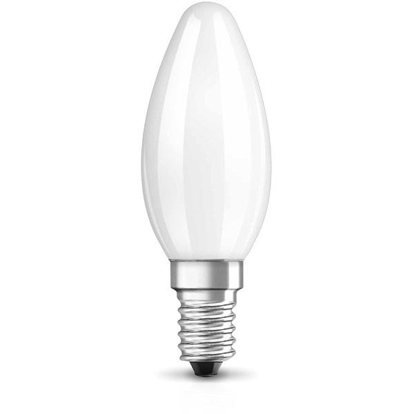 Osram Star 2,8 W/827 25 E14 250 lumen matt LED gyertya izzó - 1