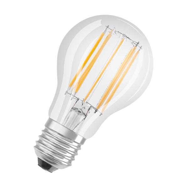 Osram Star átlátszó üveg búra/11W/1521lm/4000K/E27 LED körte izzó - 1