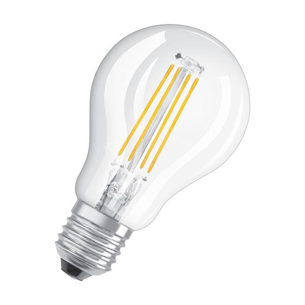 Osram Star átlátszó üveg búra/4W/470lm/4000K/E27 LED kisgömb izzó - 1