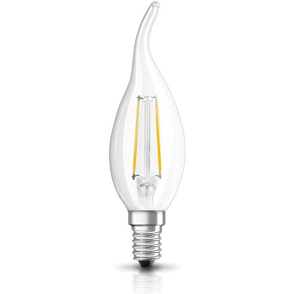Osram Star Filament 2,8 W/827 25 E14 250 lumen LED gyertya láng izzó - 1
