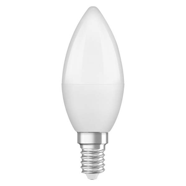 Osram Star matt búra/5W/470lm/2700K/E14 LED gyertya izzó - 1