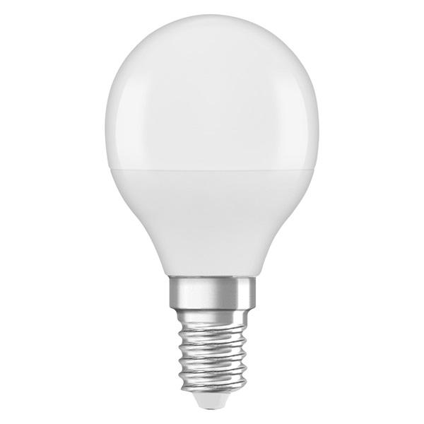 Osram Star matt búra/5W/470lm/2700K/E14 LED kisgömb izzó - 1