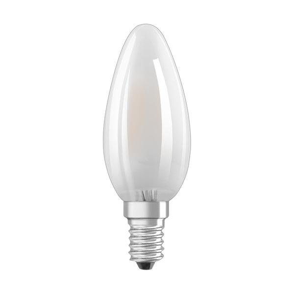 Osram Star matt üveg búra/4W/470lm/2700K/E14 LED gyertya izzó - 1