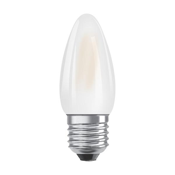 Osram Star matt üveg búra/4W/470lm/2700K/E27 LED gyertya izzó - 1