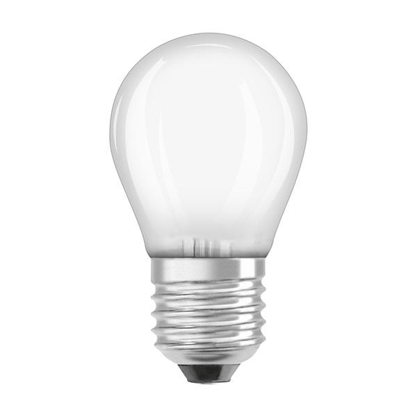 Osram Star matt üveg búra/4W/470lm/2700K/E27 LED kisgömb izzó - 1
