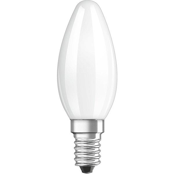 Osram Star matt üveg búra/4W/470lm/4000K/E14 LED gyertya izzó - 1