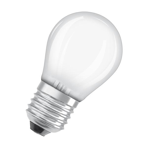 Osram Star matt üveg búra/4W/470lm/4000K/E27 LED kisgömb izzó - 1
