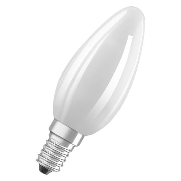 Osram Star matt üveg búra/6,5W/806lm/2700K/E14 LED gyertya izzó - 1