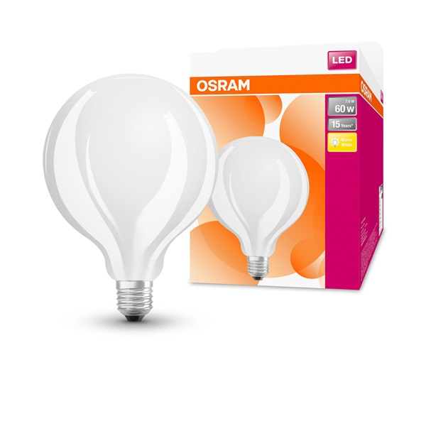 Osram Star matt üveg búra/7W/806lm/2700K/E27 LED gömb izzó - 1