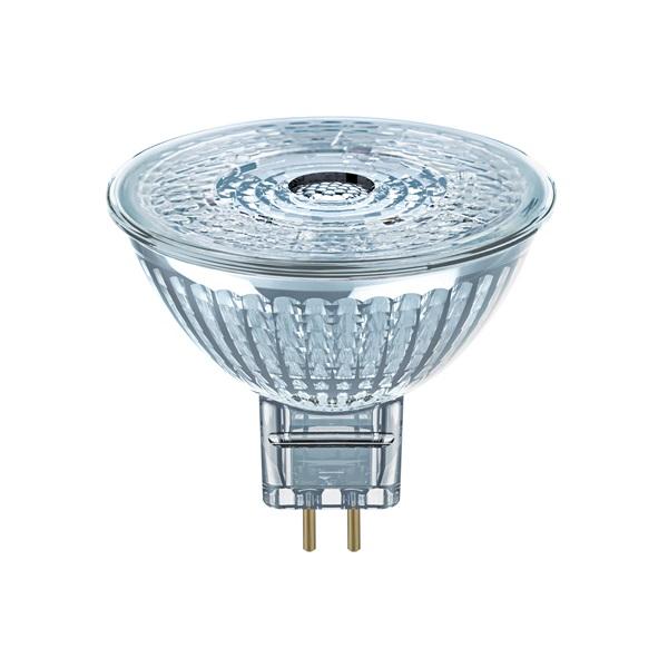 Osram Star MR16 üveg ház/4,6W/350lm/2700K/GU5.3 LED spot izzó - 1