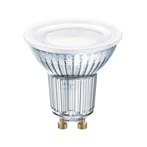 Osram Star PAR16 üveg ház/4,3W/350lm/2700K/GU10/230V/120fok/81lm/W LED spot izzó - 1