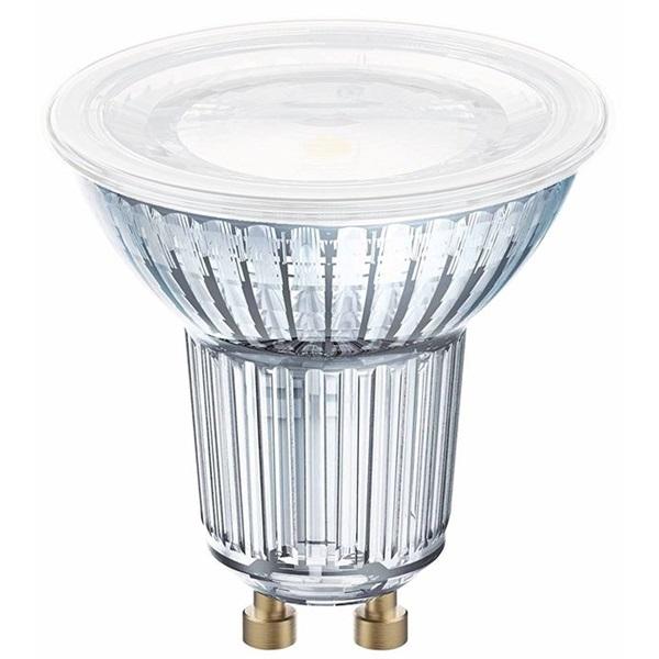 Osram Star PAR16 üveg ház/6,9W/575lm/2700K/GU10/230V/120fok/83lm/W LED spot izzó - 1