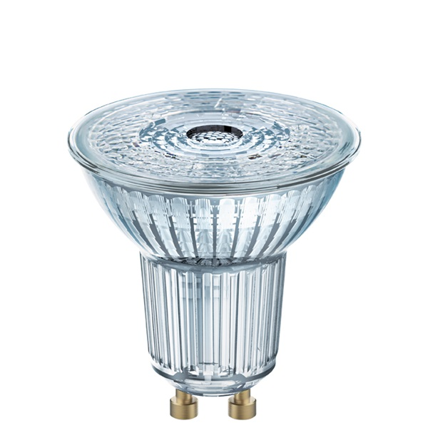 Osram Star PAR16 üveg ház/6,9W/575lm/4000K/GU10/230V/36fok/83lm/W LED spot izzó - 1