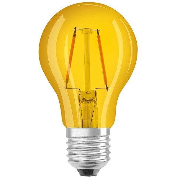 Osram Star üveg búra/2,5W/235lm/2200K/E27/sárga LED körte izzó - 1