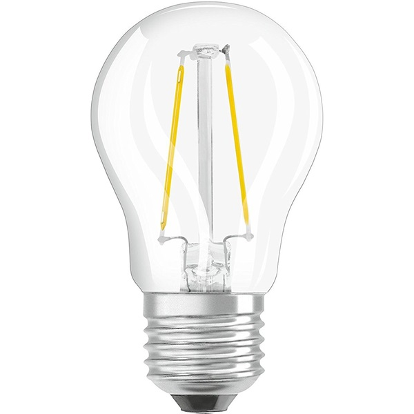 Osram Superstar átlátszó üveg búra/4,5W/470lm/2700K/E27 dimmelhető LED kisgömb izzó - 1