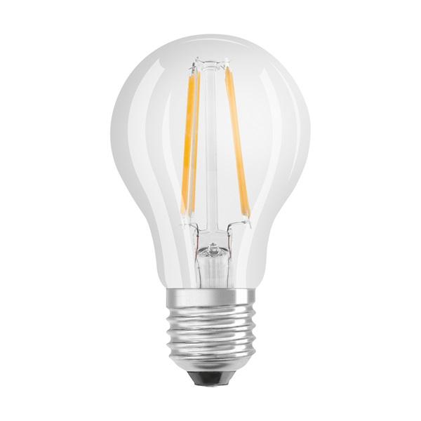 Osram Superstar átlátszó üveg búra/7W/806lm/2700K/E27 dimmelhető LED körte izzó - 1