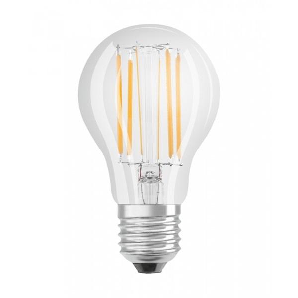 Osram Superstar átlátszó üveg búra/8,5W/1055lm/2700K/E27 dimmelhető LED körte fényforrás - 1