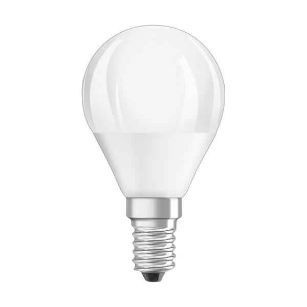 Osram Superstar matt búra/5W/470lm/2700K/E14 dimmelhető LED kisgömb izzó - 1