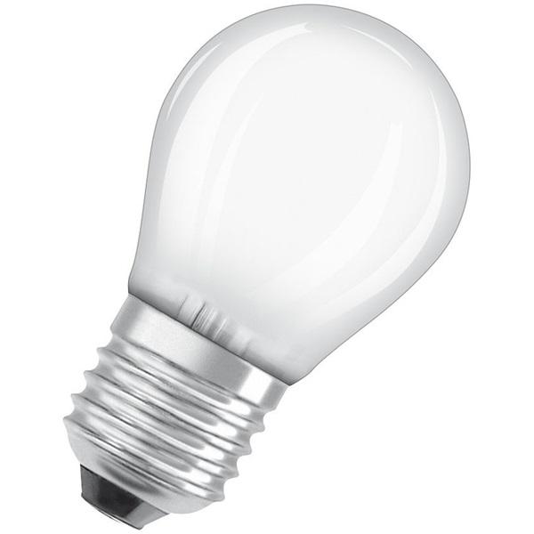 Osram Superstar matt üveg búra/4,5W/470lm/2700K/E27 dimmelhető LED kisgömb izzó - 1