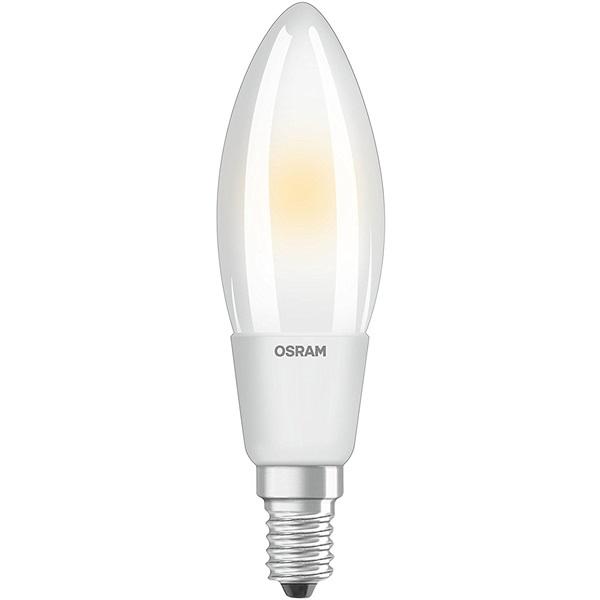 Osram Superstar matt üveg búra/6,5W/806lm/2700K/E14 dimmelhető LED gyertya izzó - 1