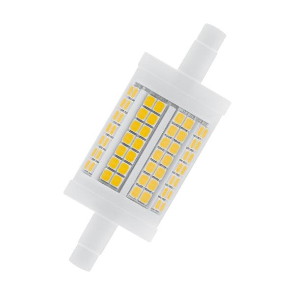 Osram Superstar műanyag búra/11,5W/1521lm/2700K/R7s dimmelhető LED ceruza izzó - 1