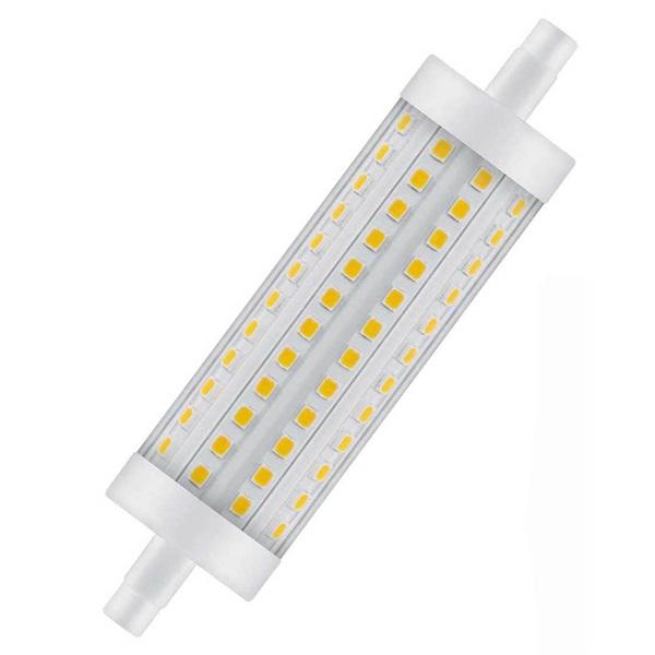 Osram Superstar műanyag búra/15W/2000lm/2700K/R7s dimmelhető LED ceruza izzó - 1