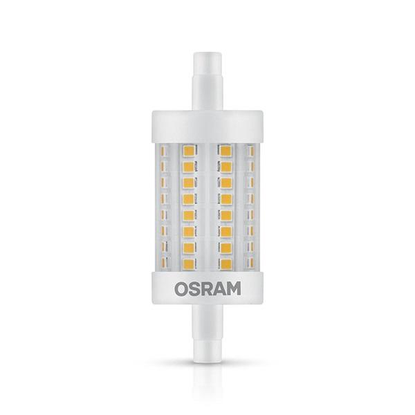 Osram Superstar műanyag búra/8,5W/1055lm/2700K/R7s dimmelhető LED ceruza izzó - 1