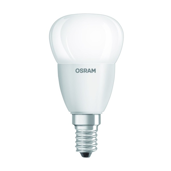 Osram Value matt meleg fehér/5W/470lm/2700K/E14 LED kisgömb izzó - 1