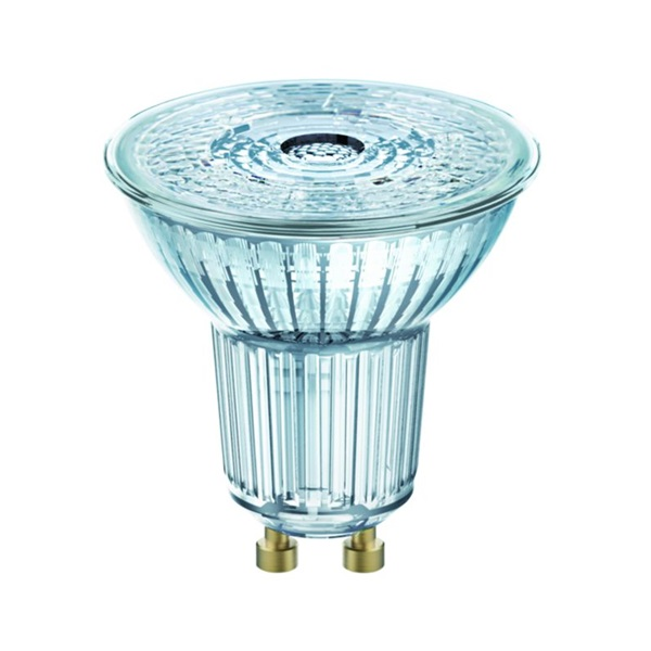 Osram Value PAR16 üveg ház/6,9W/575lm/3000K/GU10/230V/meleg fehér/120fok LED spot izzó - 1