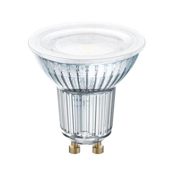 Osram Value PAR16 üveg ház/6,9W/575lm/6500K/GU10/230V/nappali fényű/120fok LED spot izzó - 1