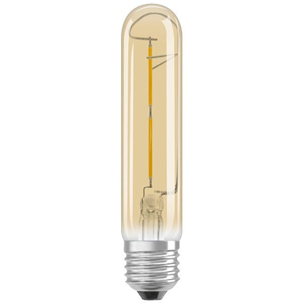 Osram Vintage átlátszó üveg búra/2,5W/200lm/2000K/E27 LED cső - 1