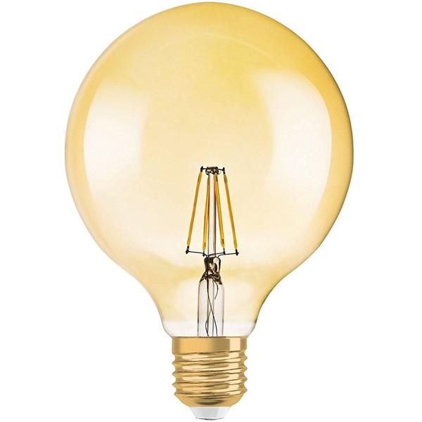 Osram Vintage átlátszó üveg búra/2,8W/225lm/2500K/E27 LED gömb izzó - 1