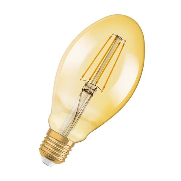 Osram Vintage átlátszó üveg búra/4,5W/420lm/2500K/E27 LED tojás izzó - 1