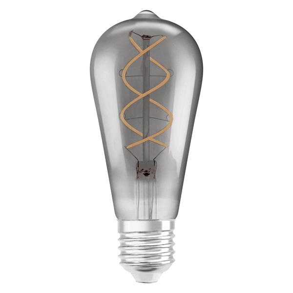 Osram Vintage átlátszó üveg búra/5W/140lm/1800K/E27 LED Edison körte izzó - 1