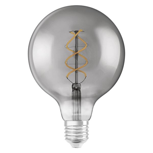 Osram Vintage átlátszó üveg búra/5W/140lm/1800K/E27 LED gömb izzó - 1